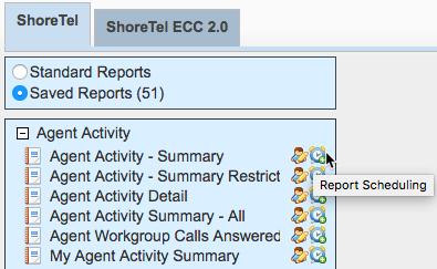 ShoreTel phone data report